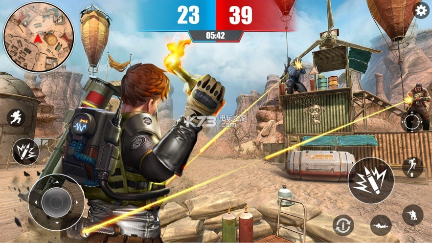 APFX英雄刺激吃鸡战场 v1.0 游戏下载 截图