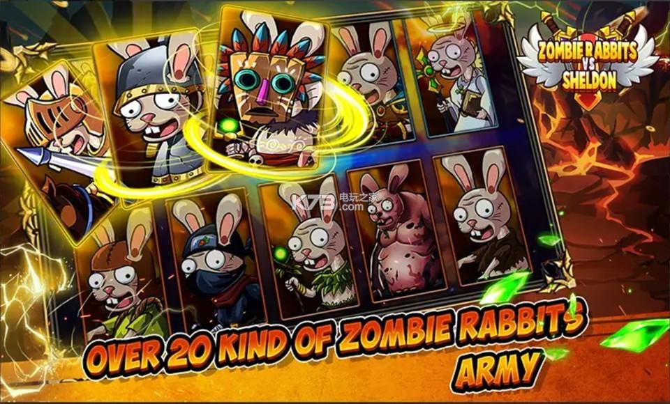 僵尸兔子大战 v1.1 游戏下载 截图