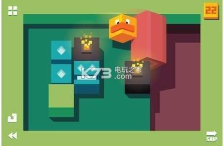 滚动的鸭子 v1.2 游戏下载 截图