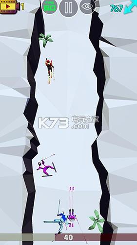 长腿滑雪比赛 v0.3 下载 截图