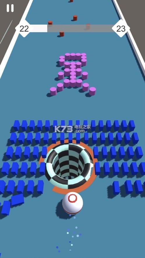 缺口球3d v1.3 游戲下載 截圖