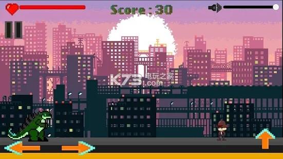 Godzilla Escape v0.2 游戲下載 截圖
