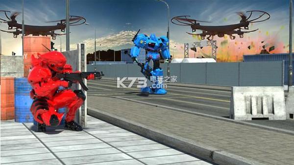 無人駕駛機器人變換 v1.5 游戲下載 截圖