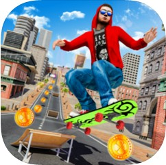滑板技巧特技表演 v1.0 游戏下载