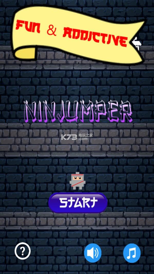 忍者爬墻跳躍 v5 游戲下載 截圖