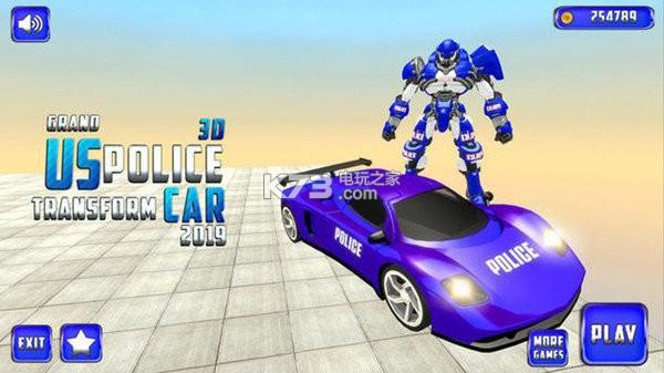 大警车机器人救援战斗 v1.9 游戏下载 截图