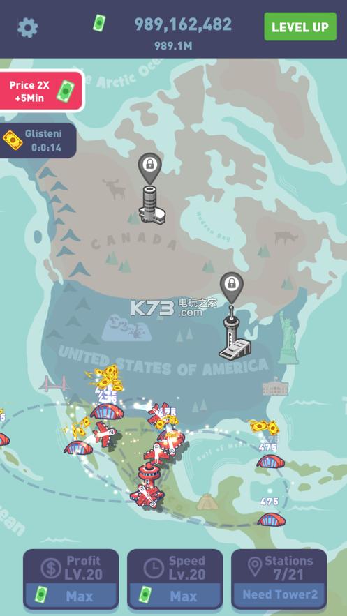 空闲航空公司经理 v1.0 游戏下载 截图