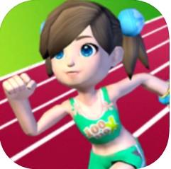 全民運動之100米賽跑游戲下載v1.0