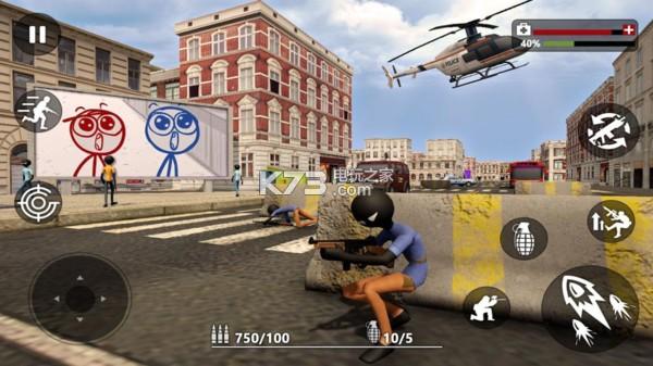 火柴人城市拯救 v1.0.7 游戲下載 截圖