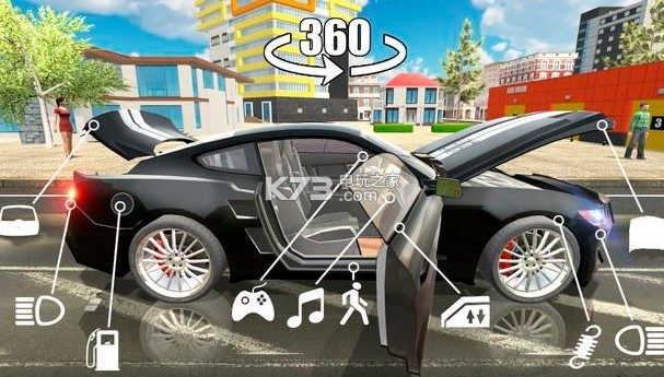 模拟汽车驾驶手机游戏 v1.25 下载 截图