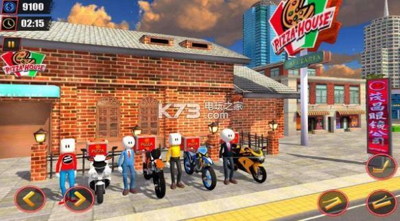 火柴人披萨送货员 v1.0 游戏下载 截图