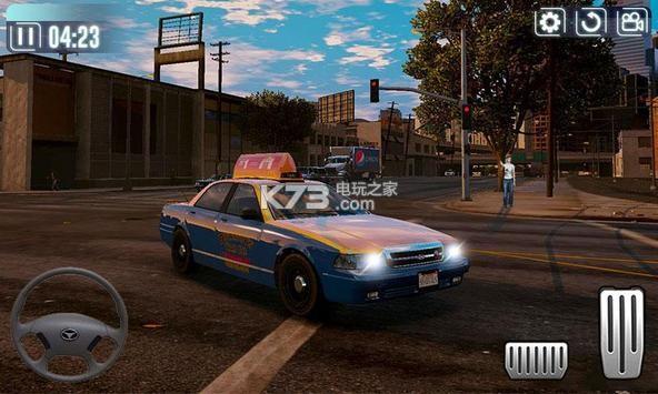 出租车驾驶模拟器3D v1.0 游戏下载 截图