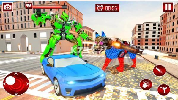 警犬變形機器人 v1.0 游戲下載 截圖