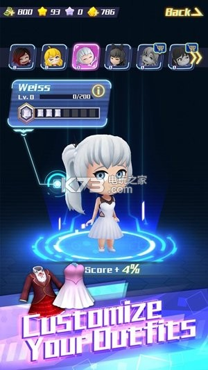 RWBY水晶冒險 v1.02 游戲下載 截圖