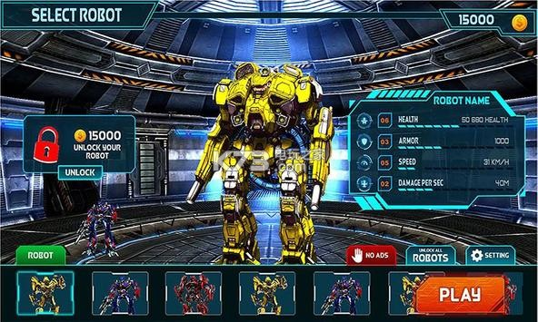 变形金刚战争机器人 v1.0 游戏下载 截图