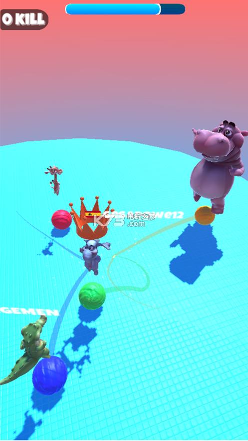 丛林球.io v1.0 手游下载 截图