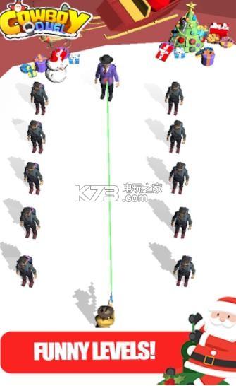 牛仔决斗乐趣射击 v1.3 游戏下载 截图