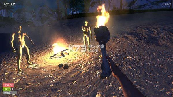 一群光头佬们在荒岛上的爆笑生存之旅 游戏下载 截图