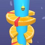 橙色螺旋跳跃游戏下载v1