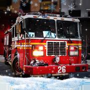 冬季救援消防车手游下载v1.0