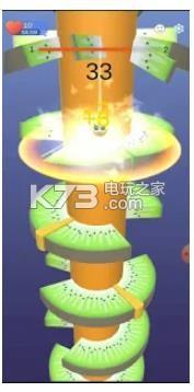 奇異果塔螺旋跳 v1.0 下載 截圖