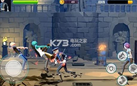 街头斗士棍棒战 v1.0 安卓版下载 截图