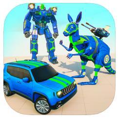袋鼠機器人汽車變換游戲下載