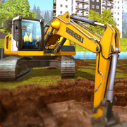 挖掘機和鏟斗模擬下載v1.0