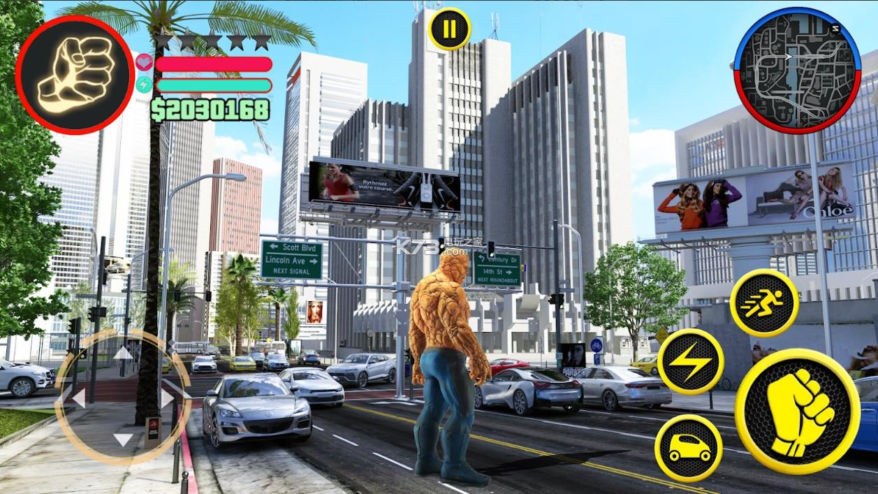 奇石巨人超级英雄黑帮犯罪 v1.0 手机版 截图