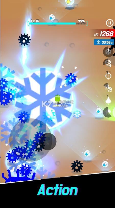 机器人VS病毒 v12 中文版 截图