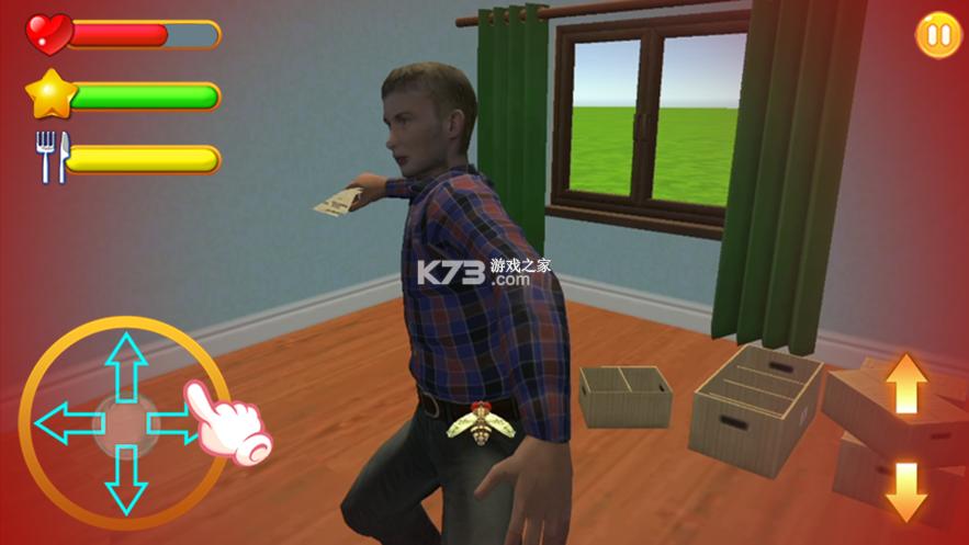 苍蝇生存模拟器 v2 游戏 截图