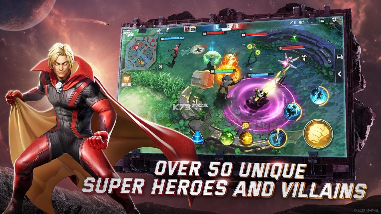 漫威超级战争 v3.8.11 汉化版 截图