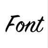 手機桌面字體組件 v1.0 app