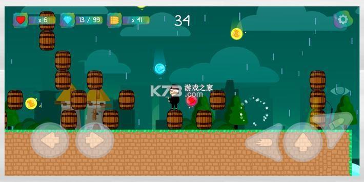 探員冒險2D平臺 v1.7 中文版 截圖