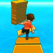 抖音捡木板走捷径过河游戏v1.8