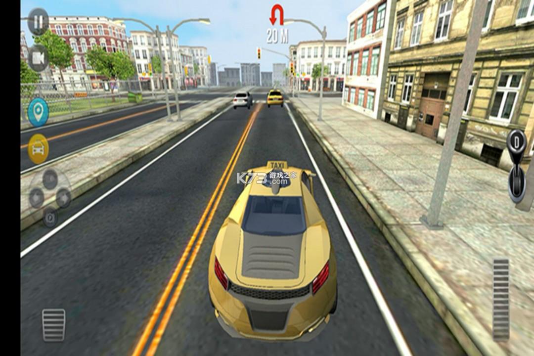 模拟疯狂出租车 v1.2 破解版 截图