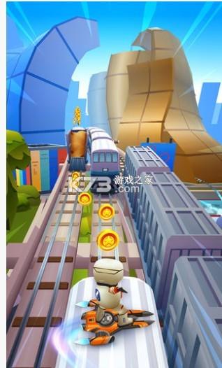 地铁跑酷 v3.12.0 太空城场景 截图