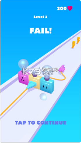 充电线跑酷 v0.1 游戏 截图