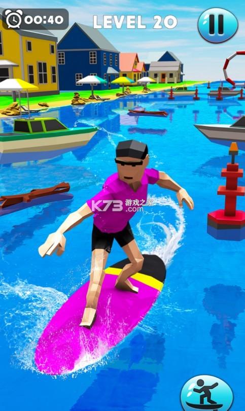 疯狂的水上冲浪特技 v1.0 游戏 截图