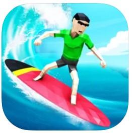 疯狂的水上冲浪特技游戏