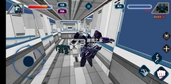 变形钢铁蜘蛛 v2.0 游戏 截图